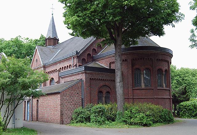 Die Herz-Jesu-Kirche in Krefeld-Königshof